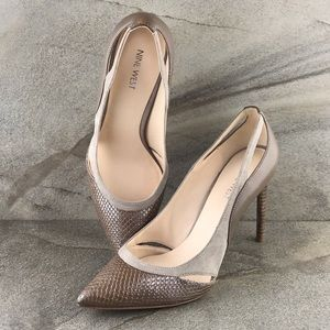 "Nine West ""Joopitar"" Pointed Toe Pumps Like New"